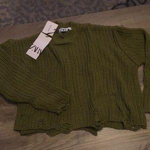 Zara women's sweater new with tag
